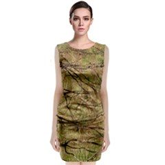 Camo Classic Sleeveless Midi Dress