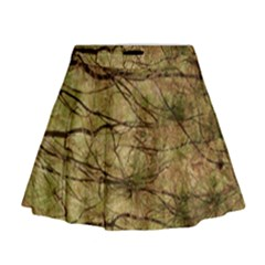 Camo Mini Flare Skirt