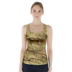 Camo Racer Back Sports Top