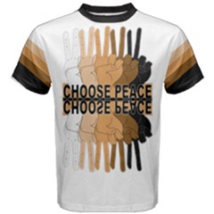 Choose Peace Men s Cotton Tee