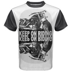 Keep On Riding Men s Cotton Tee