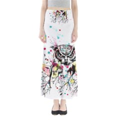 Owl Tree Maxi Skirts