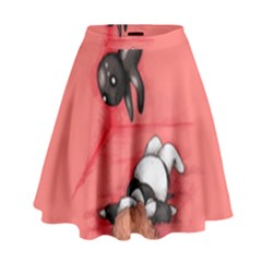 American Horror Plushie High Waist Skirt