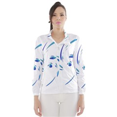 Blue twist Wind Breaker (Women)