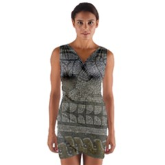 Fishbourne Wrap Front Bodycon Dress