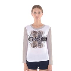 CATS AND DOGS Women s Long Sleeve Tee