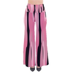 Black and pink Camo abstract Pants