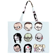 Worst Heroes Ever Large Tote Bag