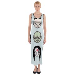Worst Heroes Ever Fitted Maxi Dress
