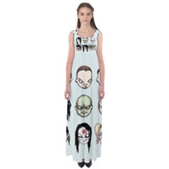 Worst Heroes Ever Empire Waist Maxi Dress