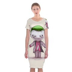 Suicide Clown Classic Short Sleeve Midi Dress