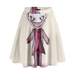 Suicide Clown High Waist Skirt