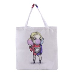 Suicide Harley Grocery Tote Bag