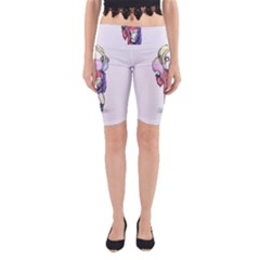 Suicide Harley Yoga Cropped Leggings