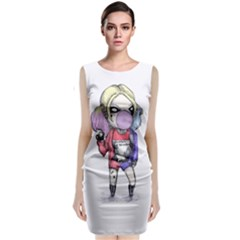 Suicide Harley Classic Sleeveless Midi Dress