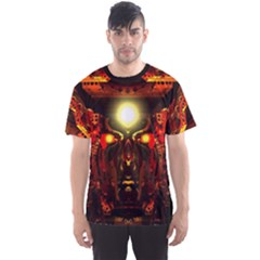 mind Chamber  By Spaced Painter Men s Sport Mesh Tee