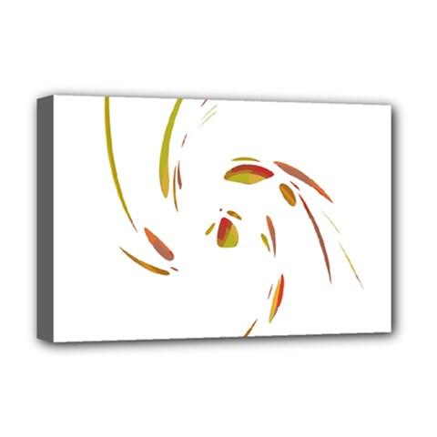 Orange twist Deluxe Canvas 18  x 12