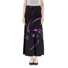Purple twist Maxi Skirts
