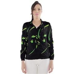 Green Twist Wind Breaker (Women)