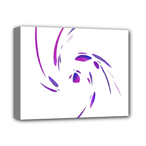 Purple twist Deluxe Canvas 14  x 11