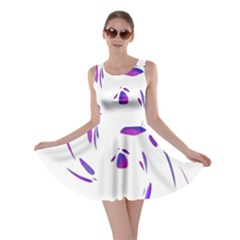Purple twist Skater Dress