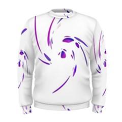 Purple twist Men s Sweatshirt
