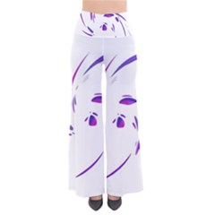 Purple twist Pants