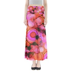Palm Trees on Sunset Stains Maxi Skirts