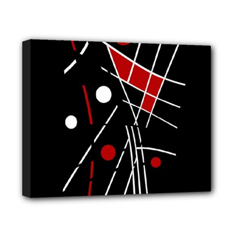 Artistic abstraction Canvas 10  x 8