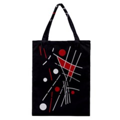 Artistic abstraction Classic Tote Bag
