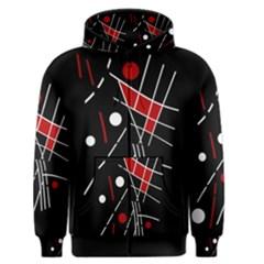 Artistic abstraction Men s Zipper Hoodie