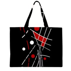 Artistic abstraction Large Tote Bag
