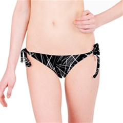 Gray abstraction Bikini Bottom