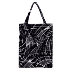 Gray abstraction Classic Tote Bag