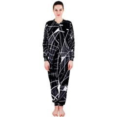Gray abstraction OnePiece Jumpsuit (Ladies)