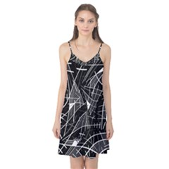 Gray abstraction Camis Nightgown