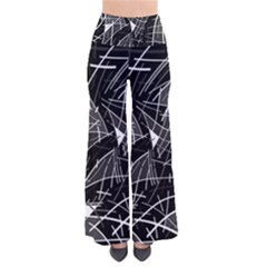 Gray abstraction Pants