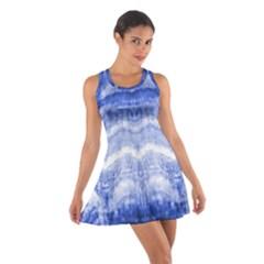 Tie Dye Indigo Racerback Dresses