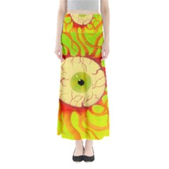 Scleral Hemorrhage Maxi Skirts
