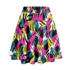 Kate Tribal Abstract High Waist Skirt
