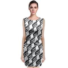 Cassette Sleeveless Midi Dress