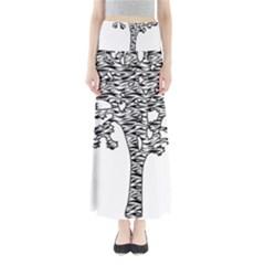 Jt Zebra Stipes 11 X 17 Maxi Skirts
