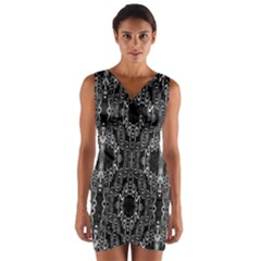 INSIDE OUT Wrap Front Bodycon Dress