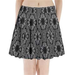 Inside Out Pleated Mini Mesh Skirt(p209)