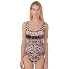 Love Bunnies In Peace And Popart Princess Tank Leotard