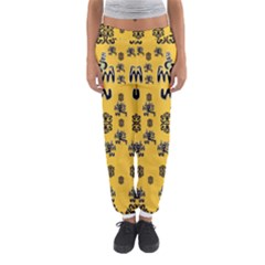 Disco Dancing In The  Tribal Nature  Women s Jogger Sweatpants