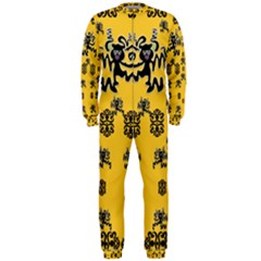 Disco Dancing In The  Tribal Nature  Onepiece Jumpsuit (men)