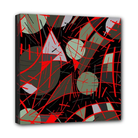 Artistic abstraction Mini Canvas 8  x 8