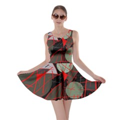 Artistic abstraction Skater Dress