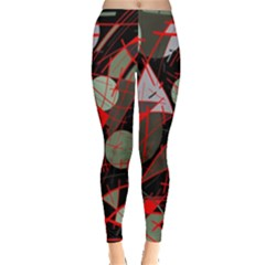Artistic abstraction Leggings